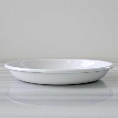 Beyaz Emaye Kahvaltı Seti - Thumbnail