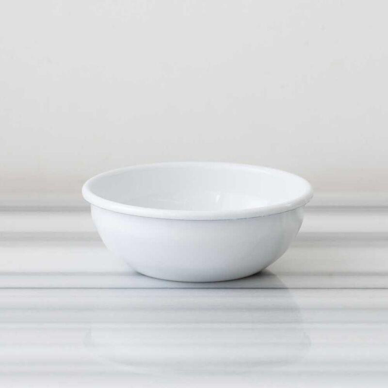 Beyaz Emaye Kahvaltı Seti
