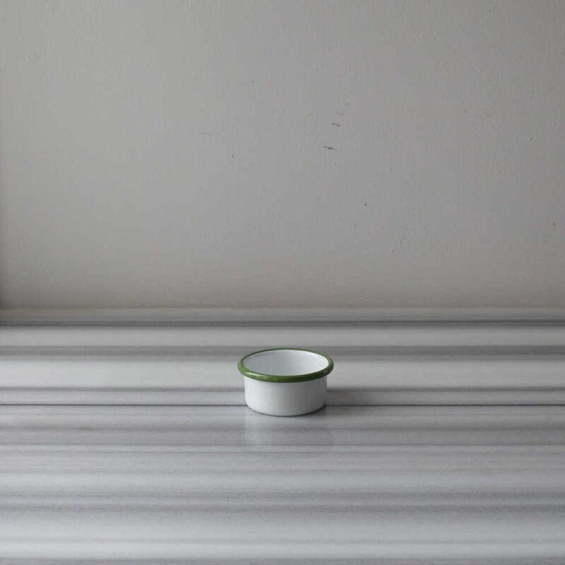 Beyaz Yeşil İki Kişilik Kahvaltı Seti