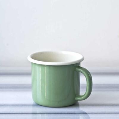 Yeşil Emaye Kupa - Thumbnail