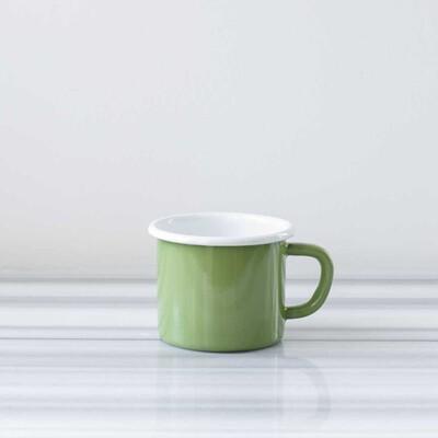 Yeşil Emaye Kocaman Kupa - Thumbnail