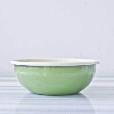Yeşil Emaye Kase - Thumbnail