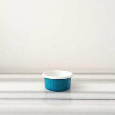 Mavi Emaye Mini Kase - Thumbnail