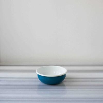 Mavi Emaye Orta Kase - Thumbnail