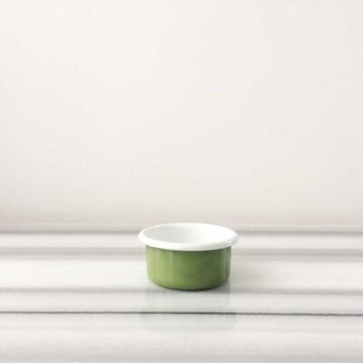 Yeşil Emaye Mini Kase - Thumbnail