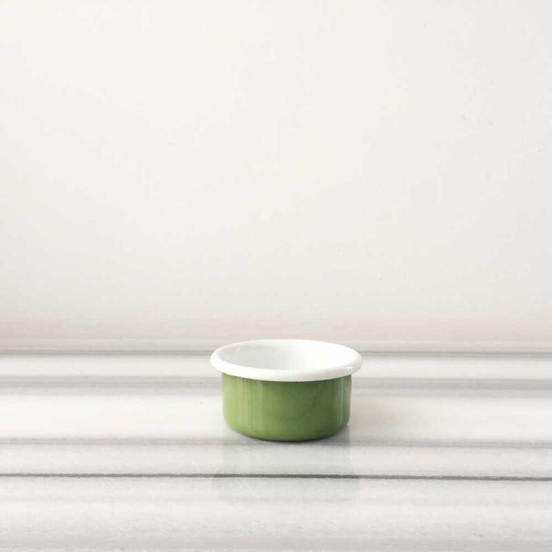 Yeşil Emaye Mini Kase