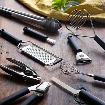 10 Parça Profesyonel Mutfak Hazırlık Seti - Thumbnail