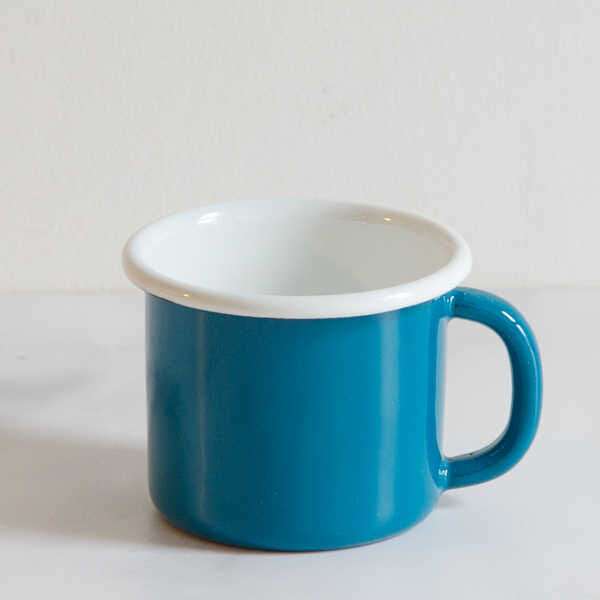 Mavi Emaye Kupa
