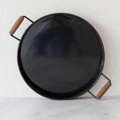 Galvaniz Büyük Siyah Tepsi - Thumbnail