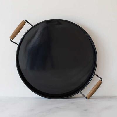 Galvaniz Küçük Siyah Tepsi - Thumbnail