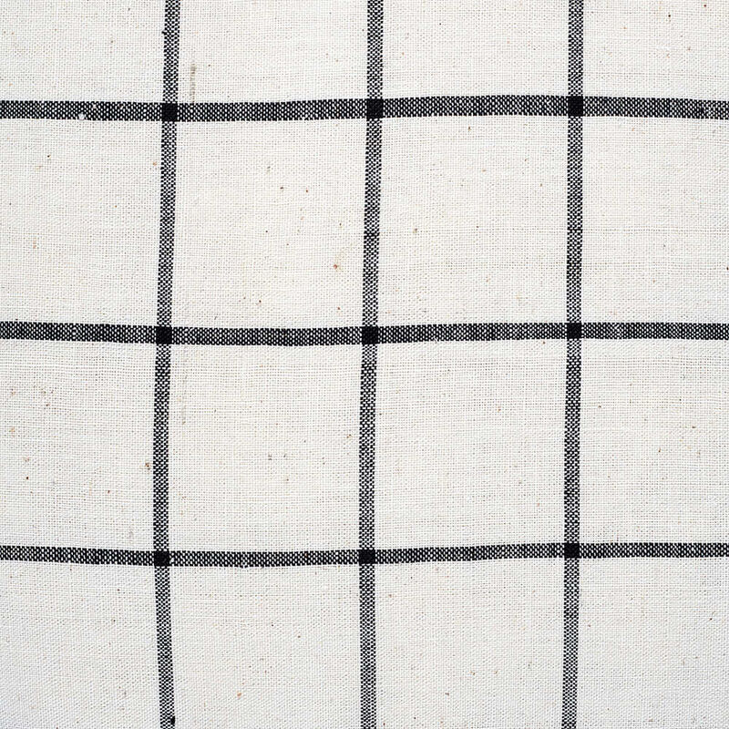 Kandıra Keten Bezi Tek Çizgili Ekose Kırlent   50 x 35 cm.