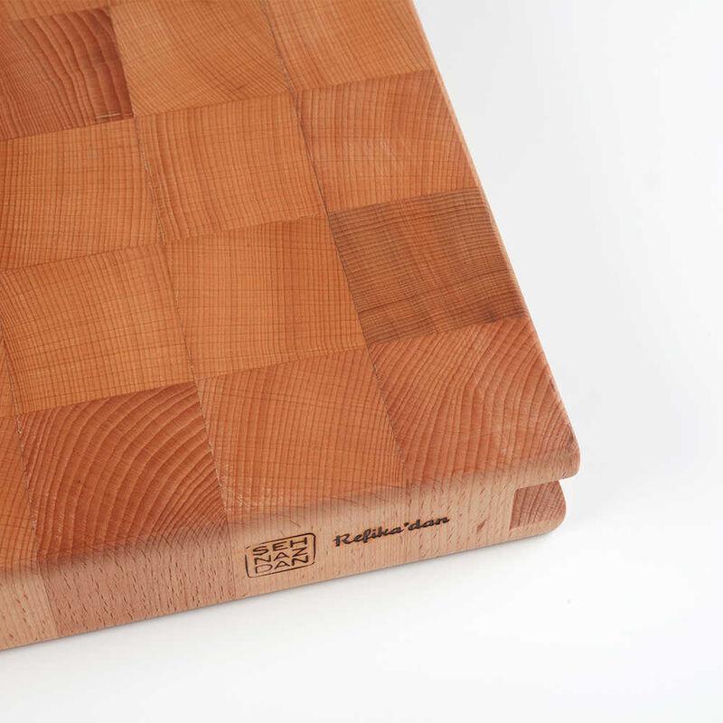 Kayın Ağacından Kesme Tahtası   35 cm