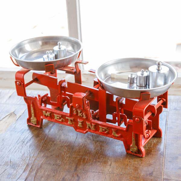 Kırmızı Emektar Tartı - 1 kg.