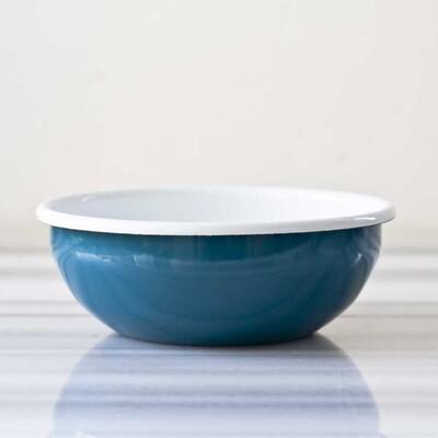 Mavi Emaye Kahvaltı Seti - Thumbnail