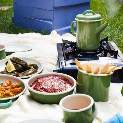 Piknik Dostu Ocak Yeşil - Thumbnail