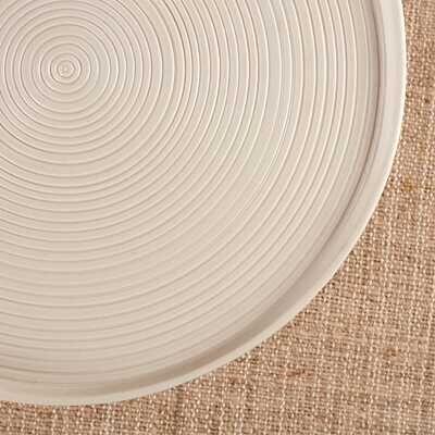 Seramik Tabaklı Turkuaz Sunum Standı | 24 cm