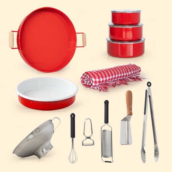 Yazlık Evime Mutfak Takımı   15 Parça