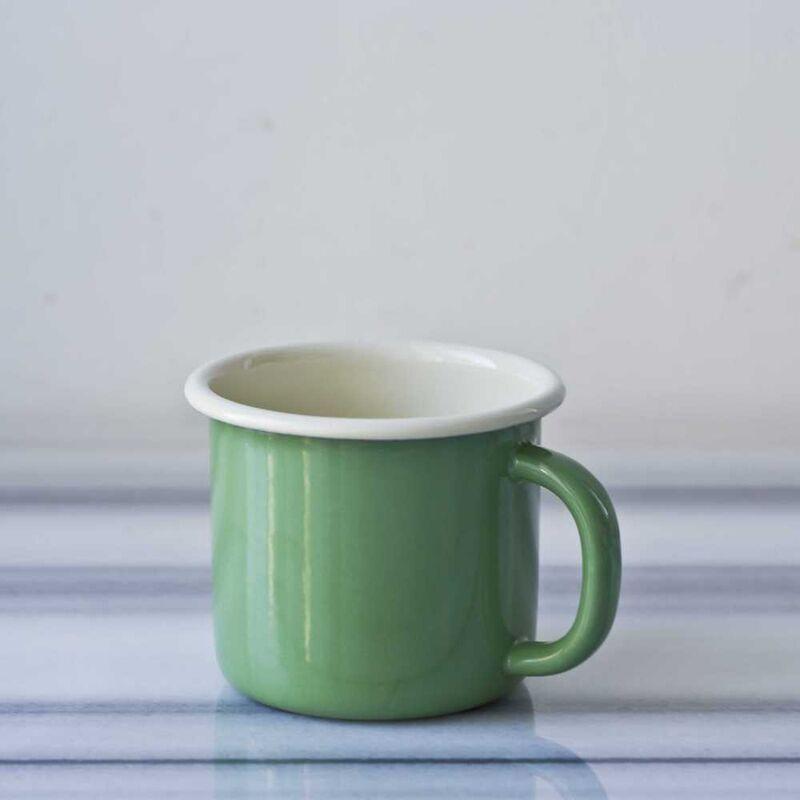 Yeşil Emaye Kahvaltı Seti